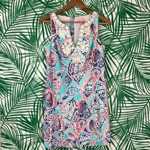 Lilly Pulitzer Shell Me About It Gabby Shift Dress